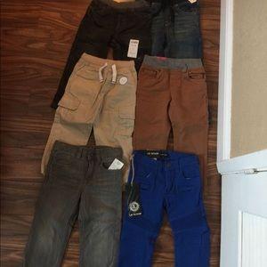 Boys assorted pants